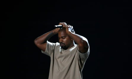 Kanye West at the MTV Video Music Awards