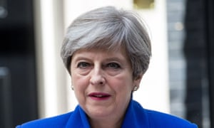 Theresa May announces her decision to form an alliance with the DUP, Downing Street, 9 June.