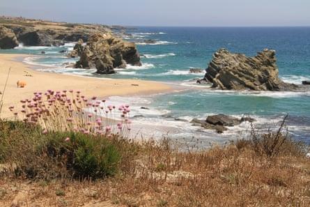 Samoqueira beach, Portugal.