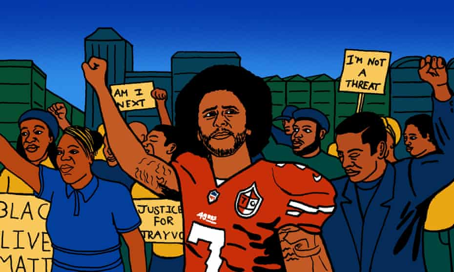 """""""I am not going to stand up to show pride in a flag for a country that oppresses black people and people of color."""""""