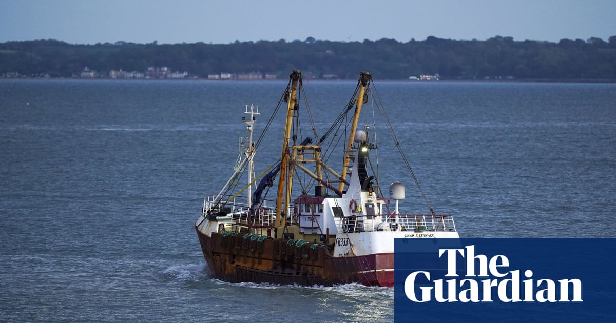 British trawler held in France amid ongoing fishing rights dispute