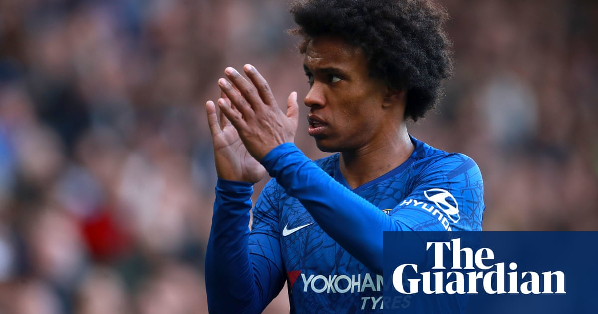 I leave with my head held high: Willian confirms Chelsea exit