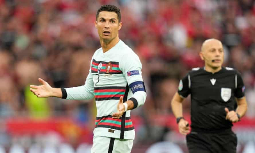 Cristiano Ronaldo snub wipes billions off Coca-Cola's market value | Euro 2020 | The Guardian