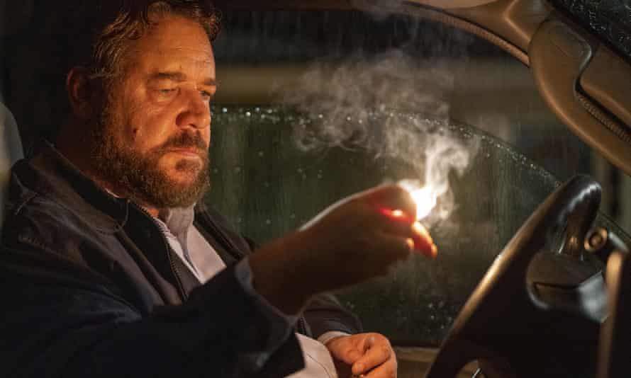 Come on, Russell, light our cinema-going fire ... Crowe in Unhinged.