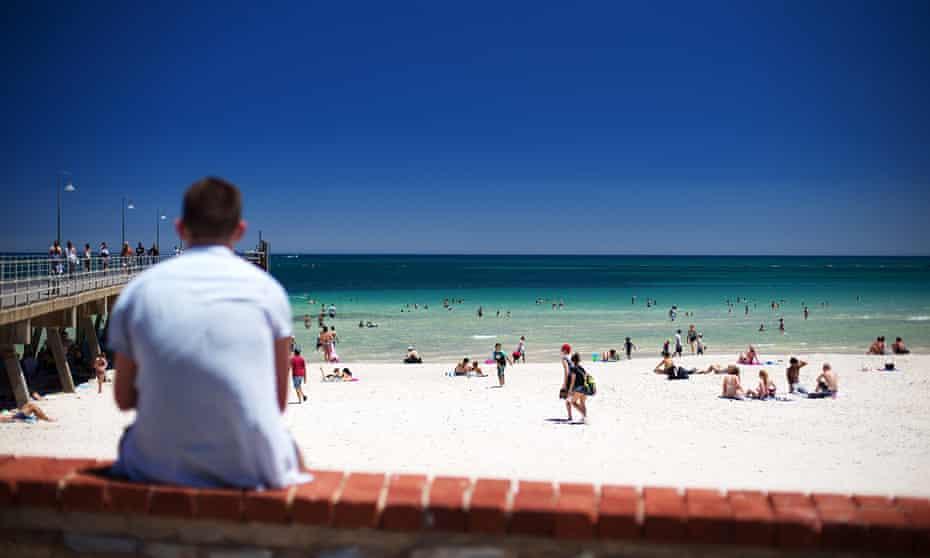 Glenelg beach today