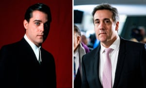 Henry Hill played by Ray Liotta in Goodfellas, and Michael Cohen