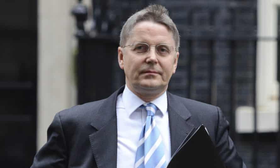 Sir Jeremy Heywood, head of the civil service