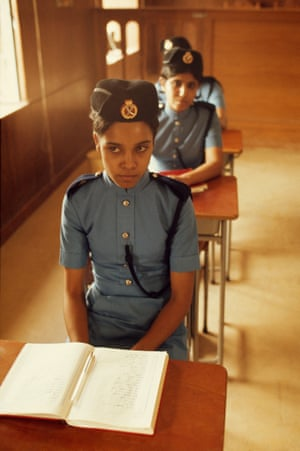 Female police corp, Bahrain, 1975.