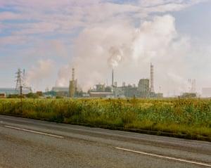 Steel works, Hartlepool, County Durham.
