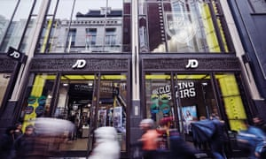 JD Sports store in Amsterdam