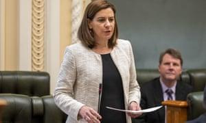 Queensland's opposition leader, Deb Frecklington