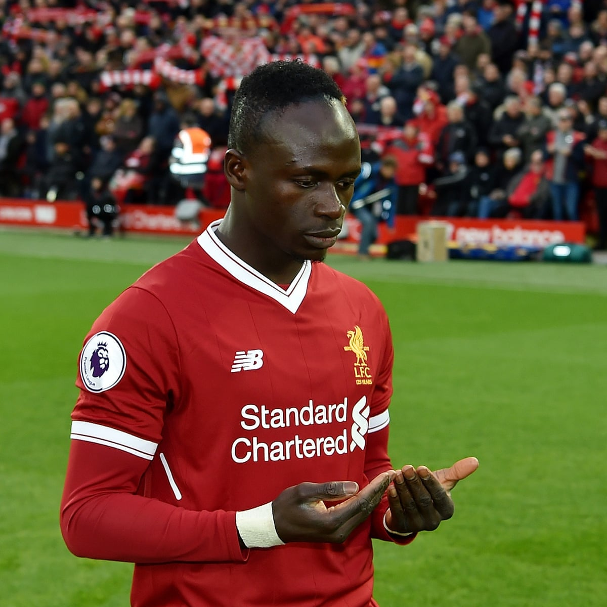 Why Sadio Mané bought 300 Liverpool shirts for his village in Senegal | Liverpool | The Guardian