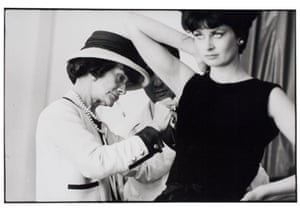 Coco Chanel with model