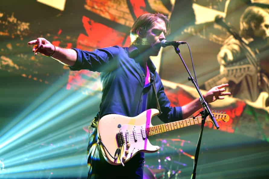 O'Brien performing in March.