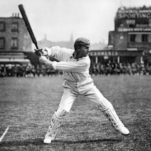Stroke of Genius … Gideon Haigh explores the life and portrait of Victor Trumper. Photograph: Paul Popper/Popperfoto/Getty