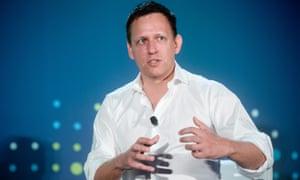 Palantir's co-founder Peter Thiel.