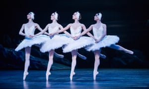 Scene from Swan Lake performed by the English National Ballet