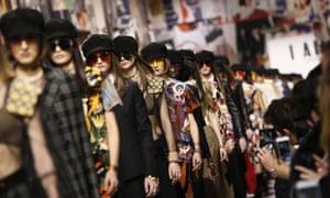 The Christian Dior show opens Paris fashion week