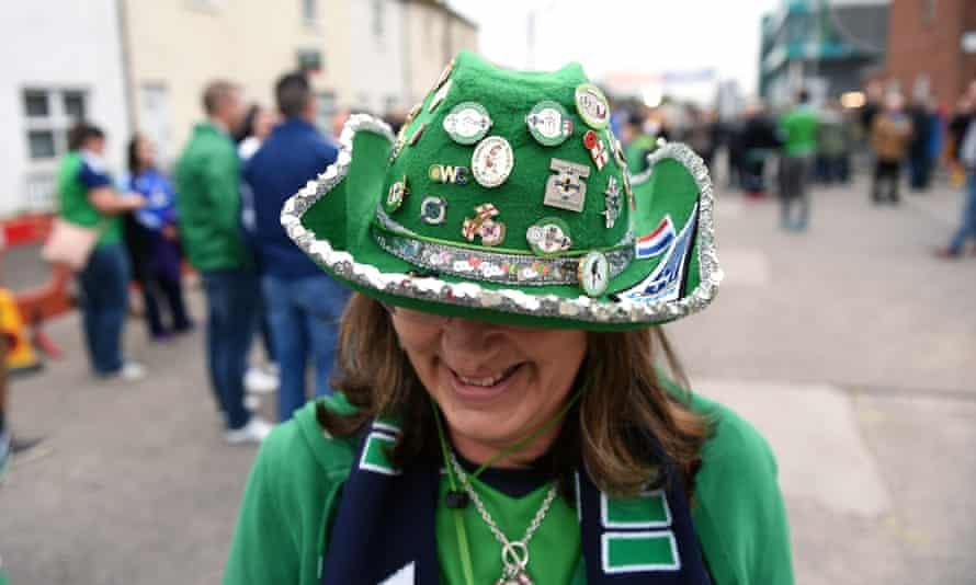 Northern Ireland football fan