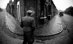 A street corner in the Black Country, West Midlands, January 1961, from the exhibition The North by John Bulmer at Hull Central Library