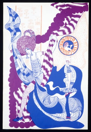 A poster for the LP Piper at the Gates of Dawn, by an anonymous artist, 1967