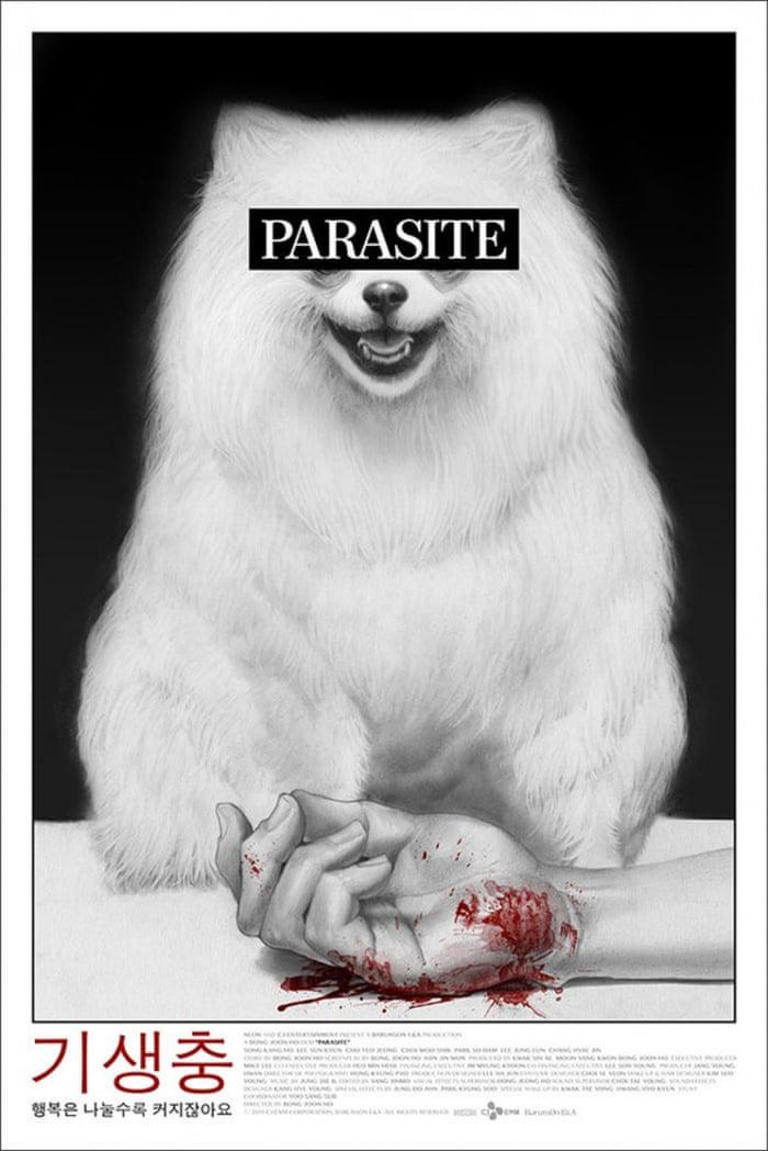 Resultado de imagen de parasite poster