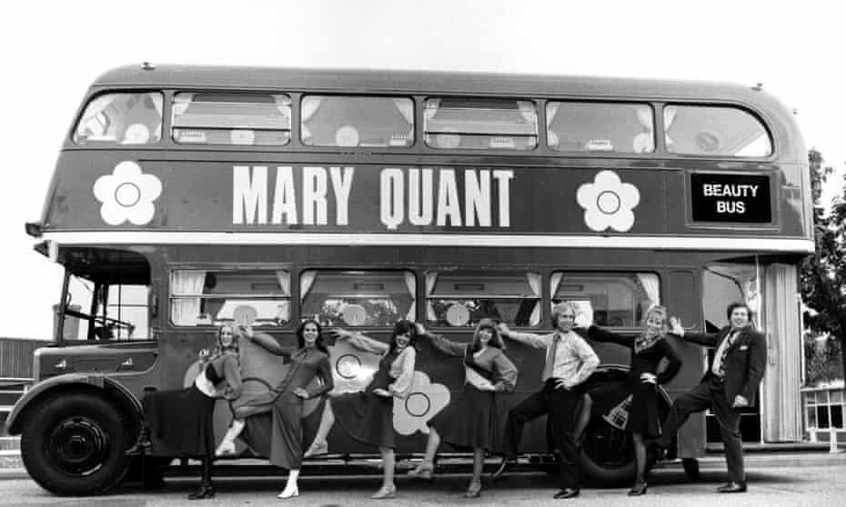 Quant's original 'beauty bus'.