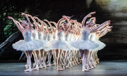 The Royal Ballet perform Swan Lake in March 2020