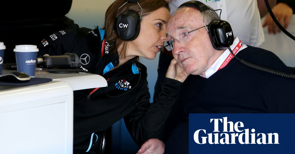 Frank And Claire Williams Hand Over Reins Of Legendary F1 Team Formula One The Guardian