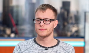 Alex Skeel on Good Morning Britain.