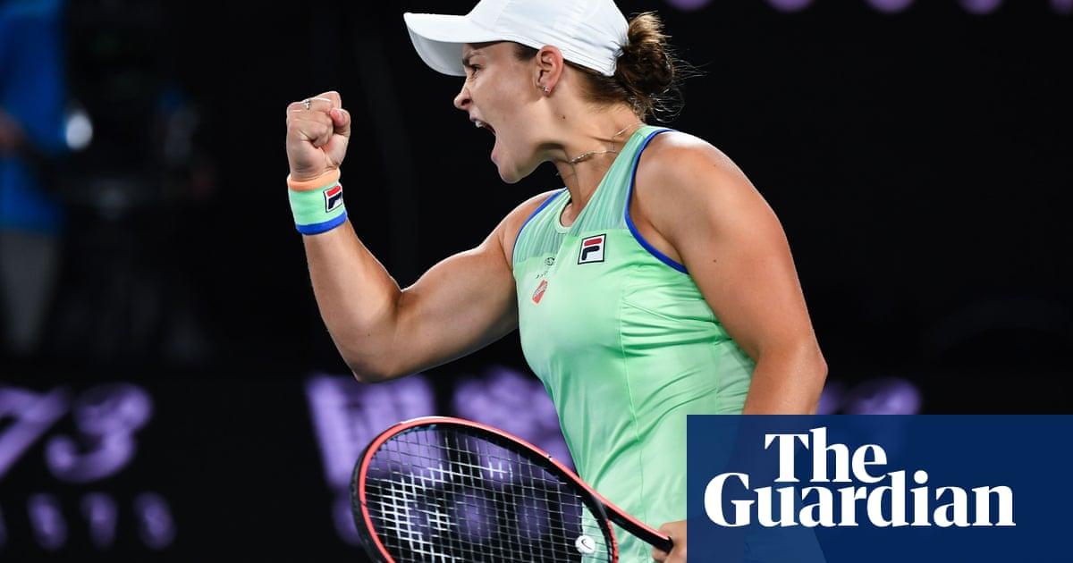 Australian Open roundup: Ashleigh Barty sets up last-eight tie with Kvitova