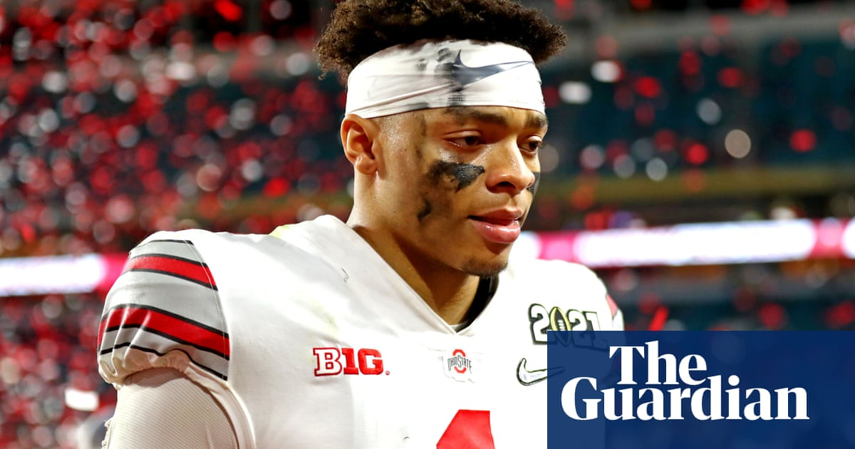 Justin Fields embodies the NFL's future, so why is his draft stock slipping?