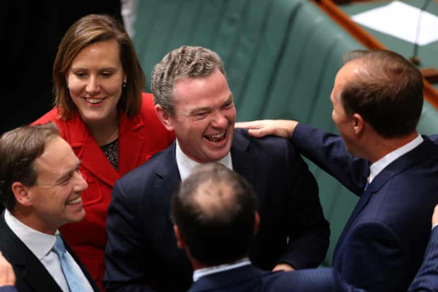 Christopher Pyne and fellow MPs