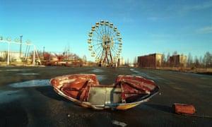 the amusement park in pripyat ukraine