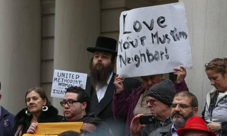 muslims donald trump protest