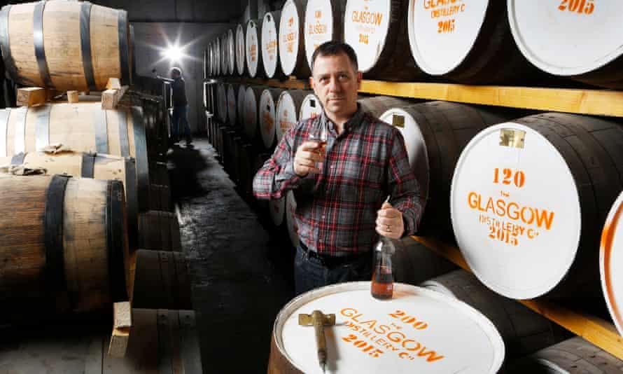 Liam Hughes of the Glasgow Distillery Company
