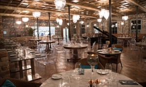 Restaurant at the 1823 Spinning Block Hotel