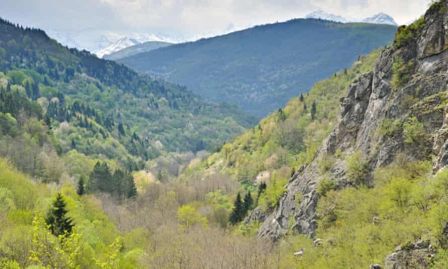 Mavrovo national park in Macedonia.