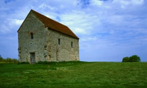 Saxon shore … St Peter's-ad-Murum near the village of Bradwell-on-Sea, Essex, where Michael Morpurgo lived as a child.