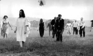 Night of the Living Dead, 1968, directed by George A Romero.