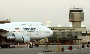 An Iran Air Boeing 747 at Mehrabad international airport in Tehran.
