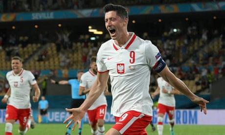 Lewandowski saves Poland as Spain's Morata misses rebound of redemption