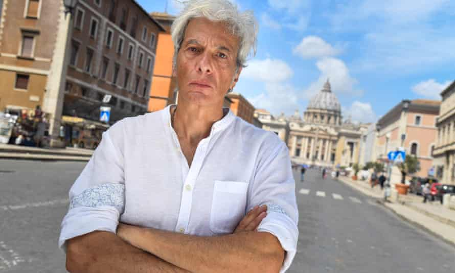 Pietro Orlandi, Emanuela's older brother, in Rome last week, still searching for clues.