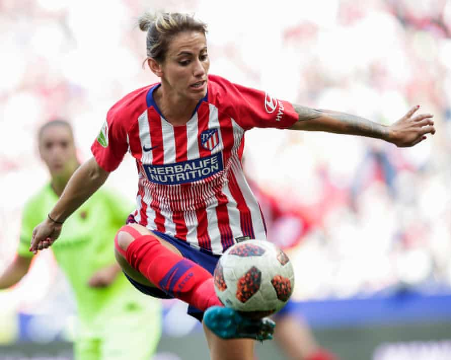 Ángela Sosa is a key player for Atlético but there have been rumours she will be leaving the club.