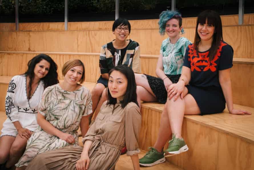 Michele Lee, Alison Evans, Sarah Krasnostein; bottom rowfrom left: Demet Divaroren, Melanie Cheng and Bella Li.