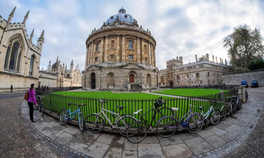 The Bodleian Library, Oxford - a real-life secret library.