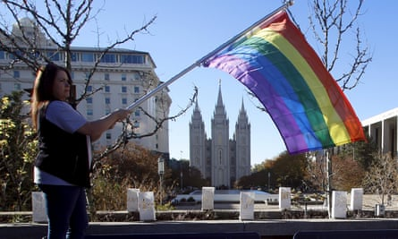 The Mormon church passed an anti-gay policy in 2015 barring the children of married LGBT couples from being baptized.