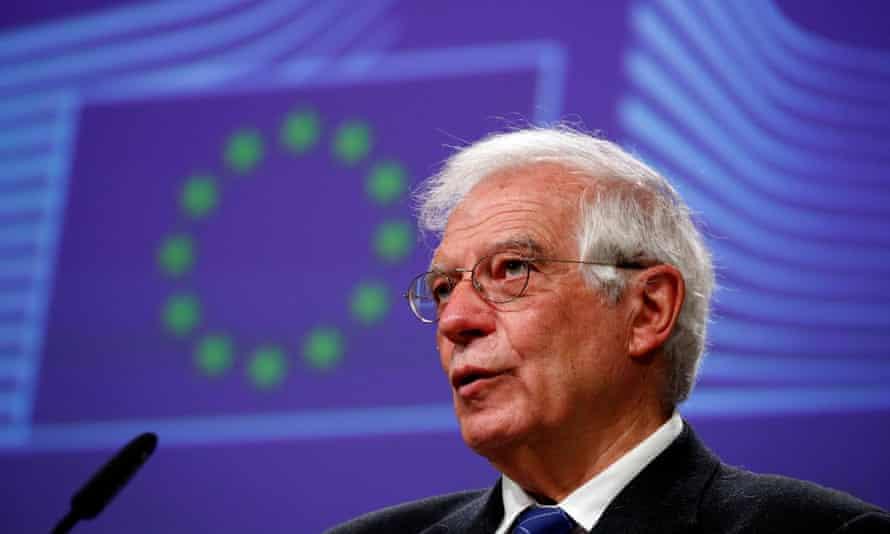 Josep Borrell, European high representative for foreign affairs