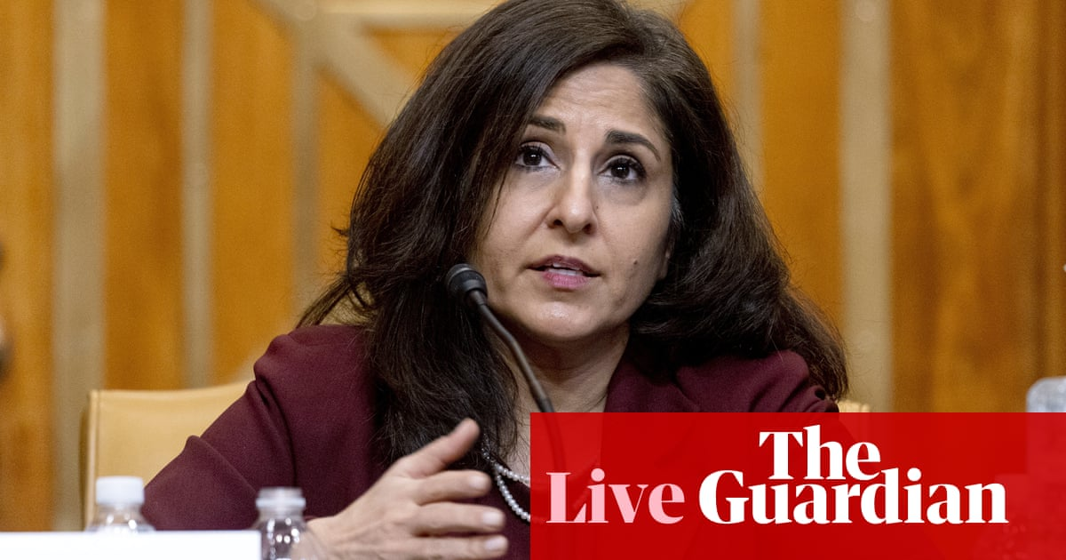 Neera Tanden withdraws from nomination to direct budget office –live