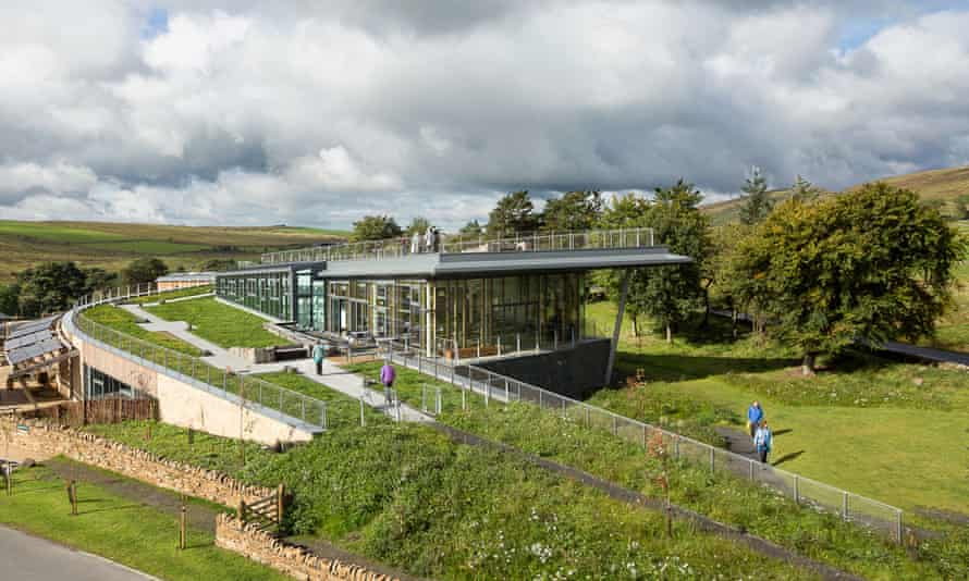 The Sill National Landscape Discovery Centre and YHA at Hadrian's Wall.